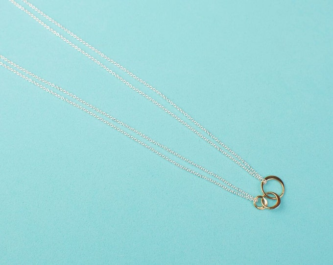 Triple Orbit Necklace