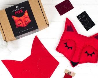 Fox Sewing Felt Craft Kit For Children