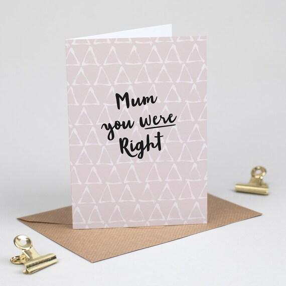 Geburtstagskarte Schreiben Mama.Lustige Tageskarte Einzigartige Mama Geburtstagskarte Mama Wurden Recht Freche Nachricht Mama Entschuldigung Ich Bin Tut Mir Leid Card Muster