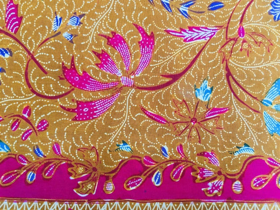 Vintage Old Demakan Hand Drawn Batik Javanese Sha… - image 10
