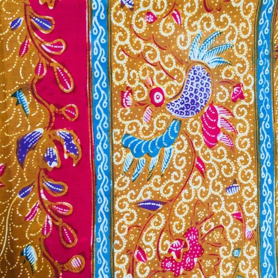 Vintage Old Demakan Hand Drawn Batik Javanese Sha… - image 7