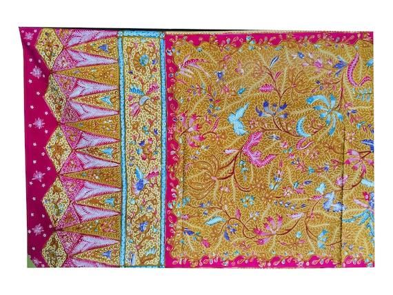 Vintage Old Demakan Hand Drawn Batik Javanese Sha… - image 3