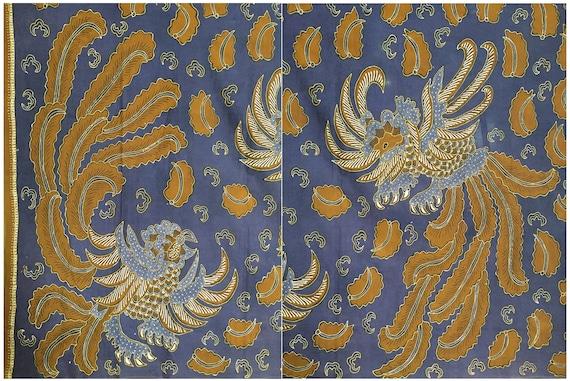 Batik Sawunggaling, Vintage Hand Drawn Javanese Ba