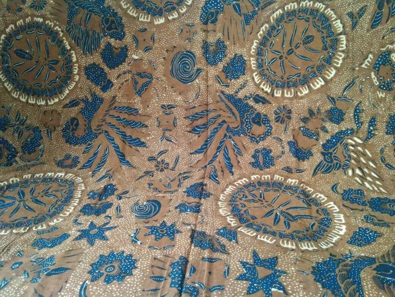 Rare Motif Old Indonesian Hand Drawn Javanese Batik Batik Sarang Semut