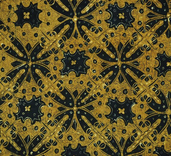 Vintage Batik Ceplokan Hand Drawn from Javanese