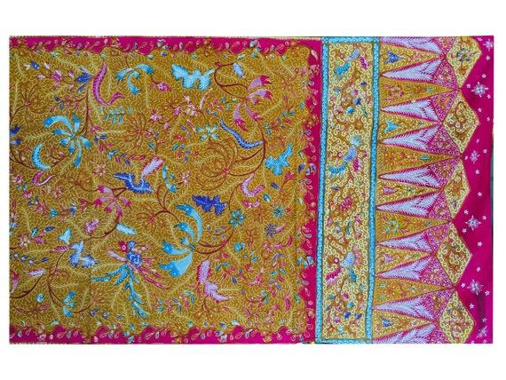 Vintage Old Demakan Hand Drawn Batik Javanese Sha… - image 4