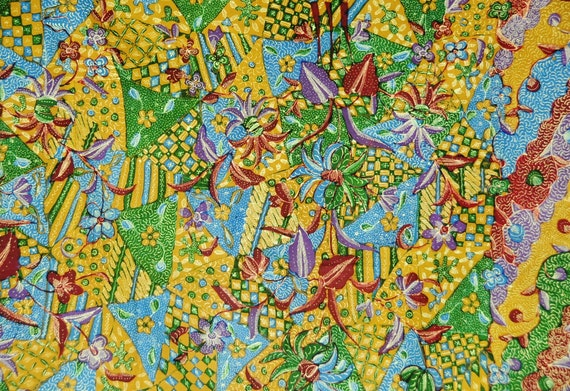 Vintage Indonesian Sarong Hand Drawn Batik Lasem S
