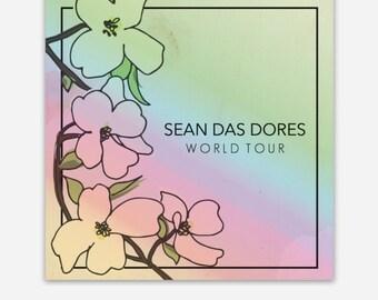 SEAN DAS DORES World Tour Holographic Sticker