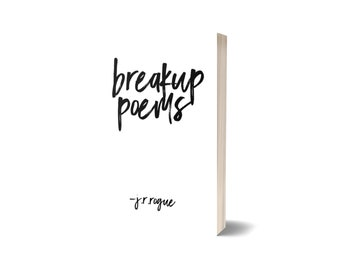 Breakup Poems Signed Paperback Pre-Order