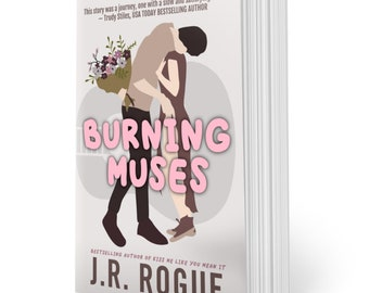Burning Muses: Illustrated Cover
