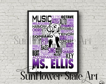 Choir gift | Etsy