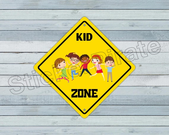 Chemistry Zone Funny Novelty Crossing Sign