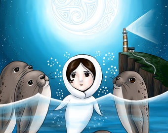 Saoirse the Selkie 8x10