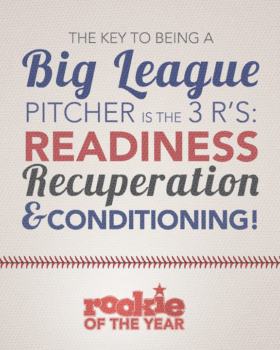Rookie Of The Year Quote Print