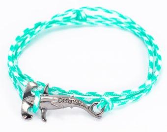 Greek Shark Bracelet with Nautical Rope Multilayer Shark Bracelet Greek Summer Bracelet