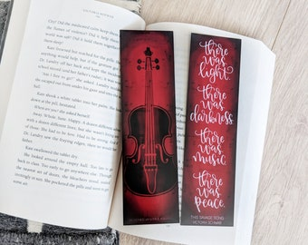 There Was Music - Bookmark