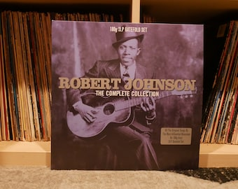 Vintage Vinyl: Robert Johnson - The Complete Collection - Gatefold Vinyl LP - {All The Original Songs By The Most Influential Bluesman}