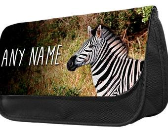 ef47f70a2fbe Zebra pencil case | Etsy