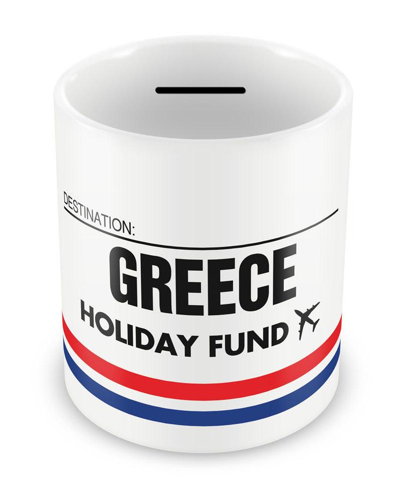Griechenland Urlaub Geld Fonds Box Piggy Bank-Sparkonto | Etsy