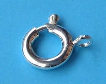 Federring 925 Silber rose 8 mm Schmuckzubehör Schmuck Verschluss