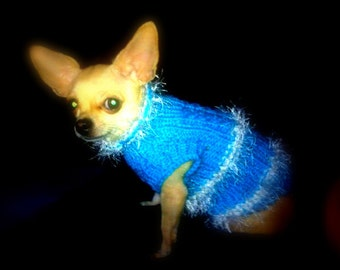 Dog sweater. Ready to ship.Dog clothes. Dog jumpers