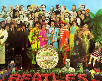 The Beatles - Sgt. Pepper's Lonely Hearts Club Band (UK Vinyl Record)