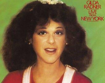 Gilda Radner – Live From New York, 70's Saturday Night Live Comedy Musical Vinyl LP