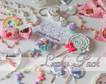 Lucky Pack, Kawaii, Sweet Lolita, Fairy Kei, Decora, Jewelry, Accessories, Japanese Fashion, Harajuku