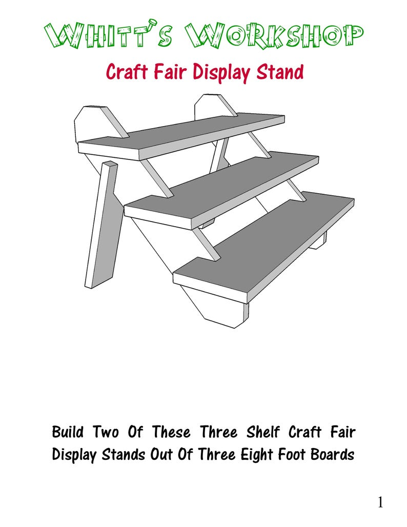 Craft Fair Display Stand image 0
