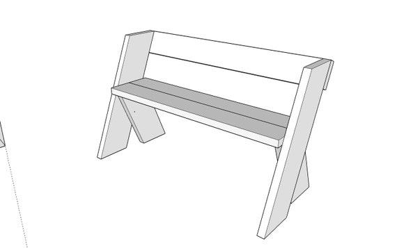 Aldo Leopold Garden Bench