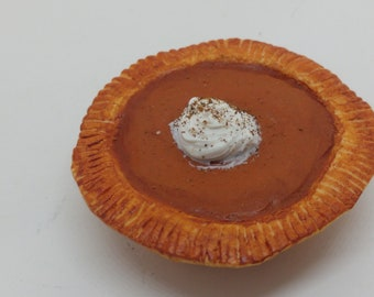 1:6 scale 3 Realistic looking pies Cherry Apple Chocolate Cream