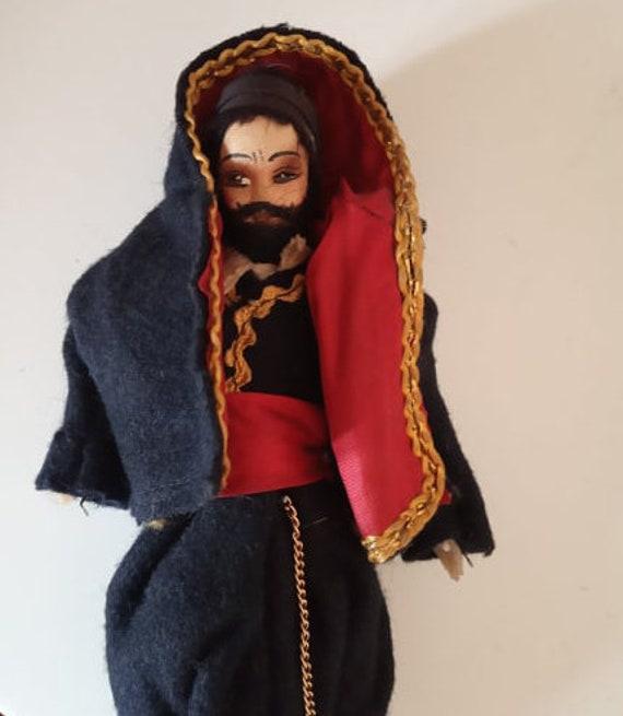 autentic livrare rapidă cel mai iubit Vintage Doll from Greece Crete Handmade Doll Cretan Local | Etsy