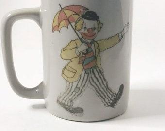 Details about  /Custom Clown Mug Clown Gift Ideas Clown Present Clown Cup