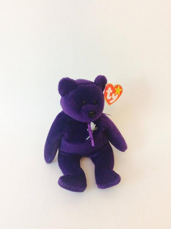 6ad981bebae Princess Diana Beanie Baby Collectible Purple Princess Diana