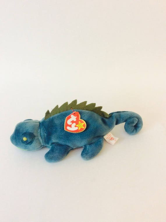 945885345d3 Beanie Baby Lizard Retired TY Beanie Baby Iggy Collectible