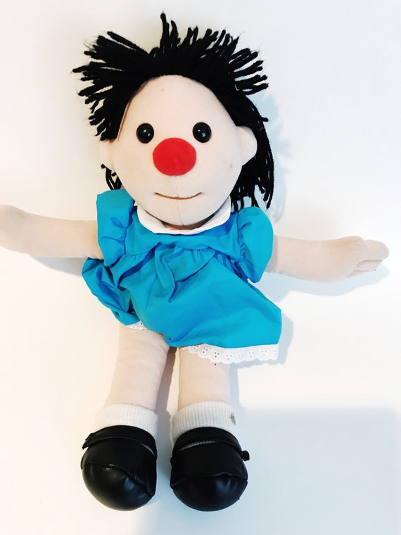 Enjoyable Molly Doll Big Comfy Couch Vtg Playmates Red Clown Nose Plush Vintage Toy 90S 1990 Collectibles Ibusinesslaw Wood Chair Design Ideas Ibusinesslaworg