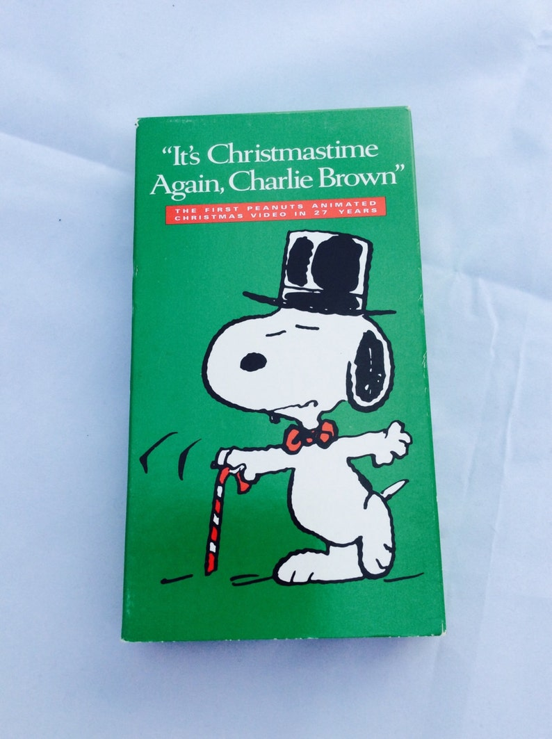 Its Christmas Time Again Charlie Brown.Snoopy Movie Vhs It S Chritmastime Again Charlie Brown Snoopy Peanuts Animated Christmas Video 1992 Collectible Videos By Charles Schulz
