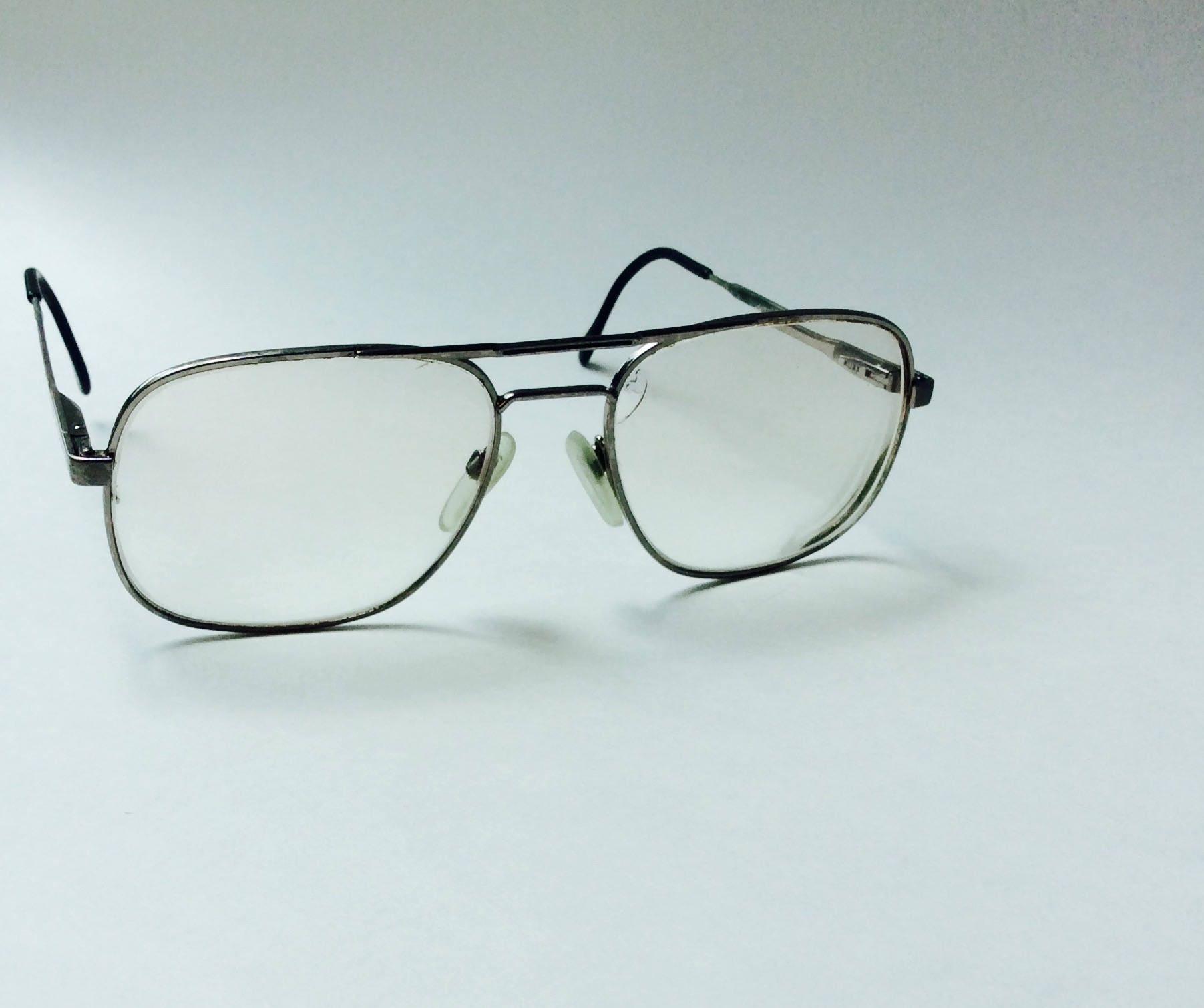 Luxottica KLIXX Aviator Style Eyeglasses Vintage Eyewear 140