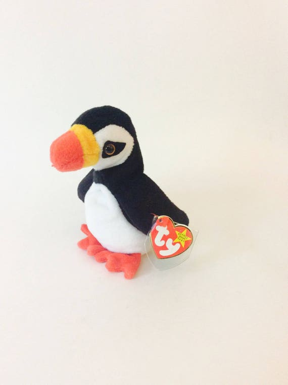 Puffer Beanie Baby Penguin TY 1997 Beanie Babies Collection  bebf26daee8