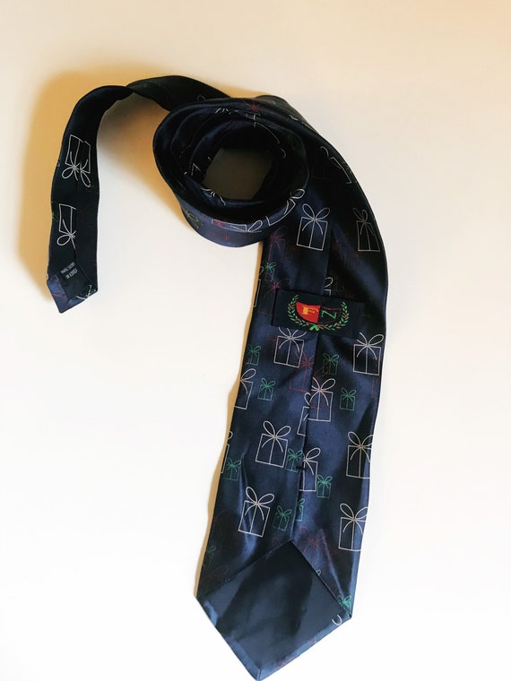 Vintage Christmas Necktie Presents Novelty Tie FN… - image 10