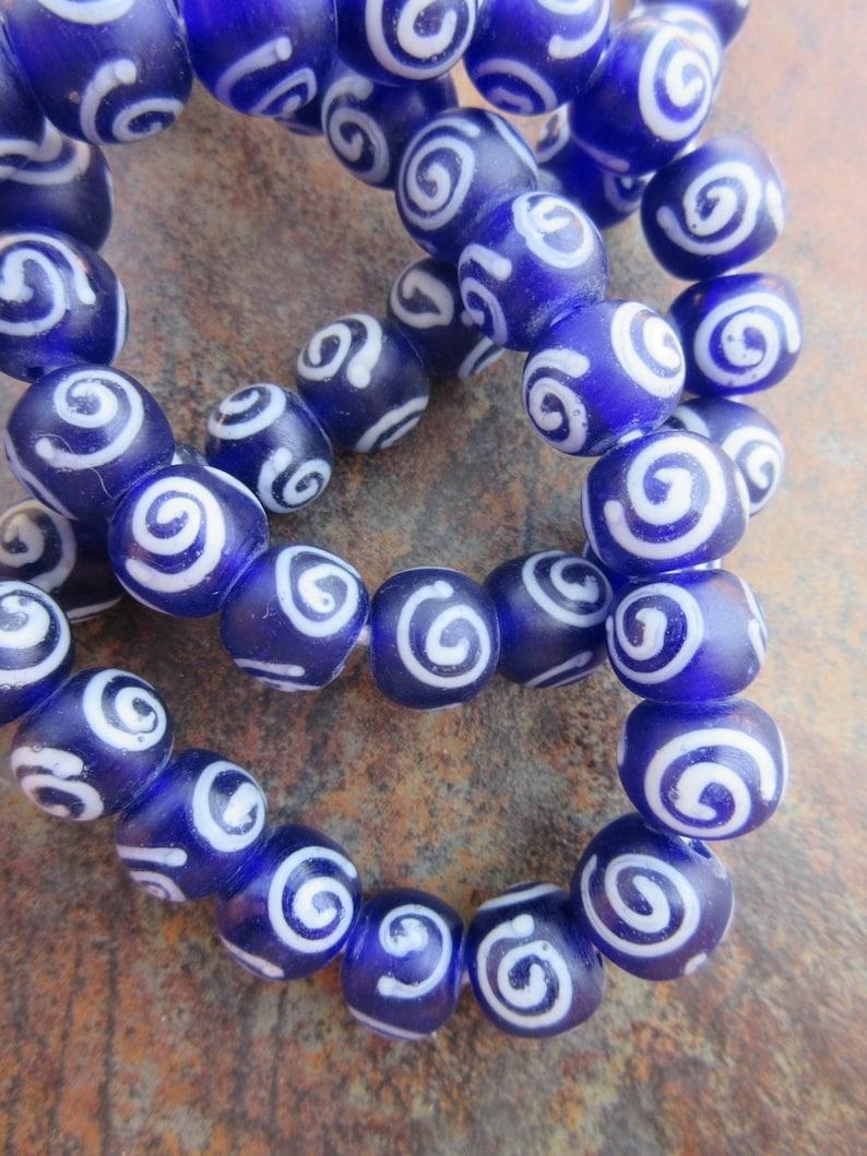 Vintage Blue /'Eye/' Beads 69936