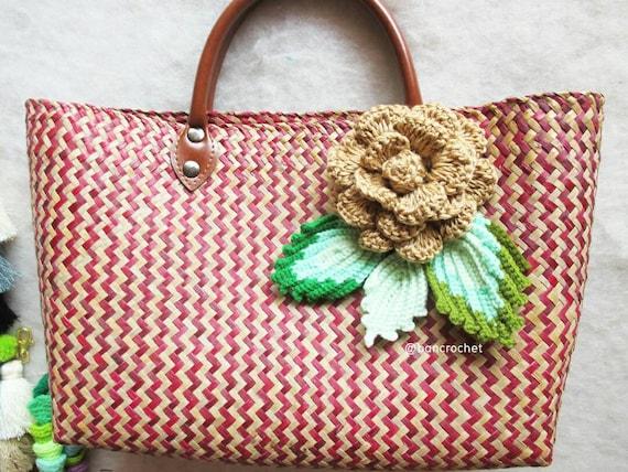 a4432a94f551 Thai basket weave bags handbagweave baggrajood