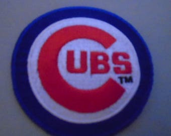 219c2dde1f5 Chicago Cubs embroidered patches old stock iron or sew in