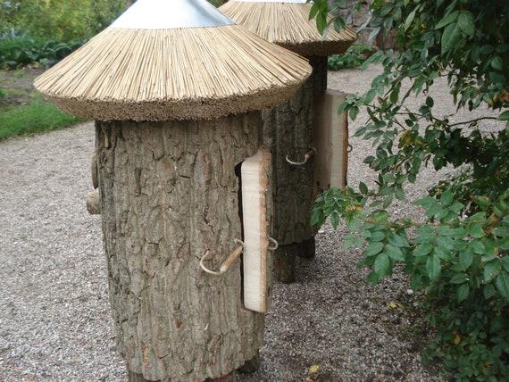 Bienenbeute Bienenkasten Klotzbeute aus einem Baumstamm | Etsy