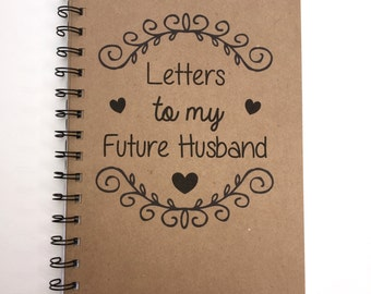 Letters to husband   Etsy