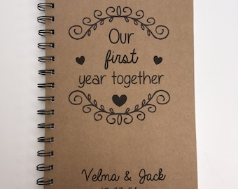 our first year etsy