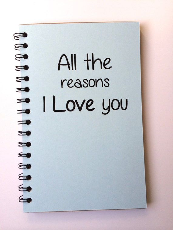 Reasons I Love You (Notebook)