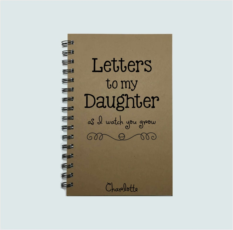 Letters to my Daughter Baby Keepsake Gift To My Daughter image 0