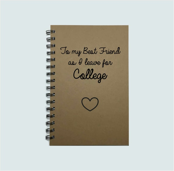 Keepsake Photo Album College Uni Gift Idea My Best Friend Quote Scrapbook
