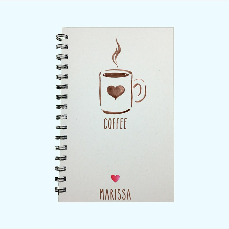Coffee Coffee Notebook Coffee Journal Coffee Decor image 0